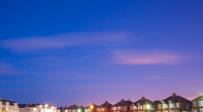 ISS over Tynemouth, 4th July 2010