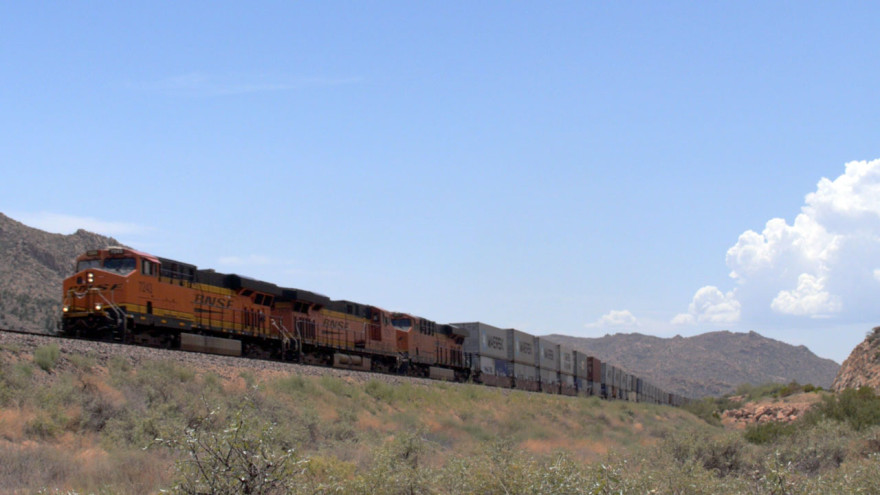 A train, Arizona.