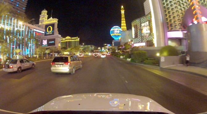 Cruising down the Strip