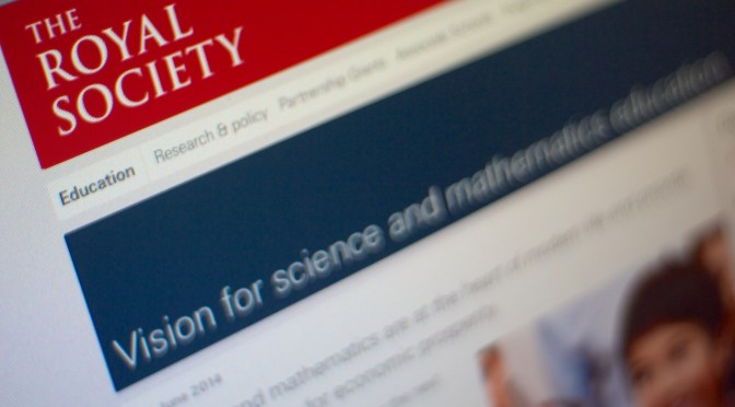 Royal Society Vision for science & maths education