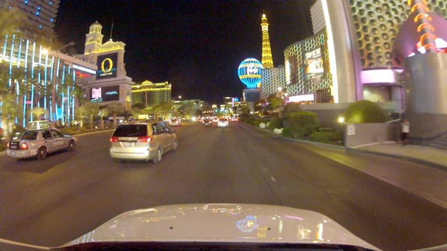 Cruising down the Strip